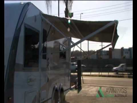 how to clean electric rv awning