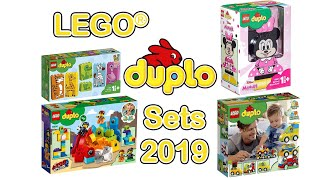 Lego Duplo New Winter Sets 2019   Picture Review   10885 10886 10895 10897 10902 10903