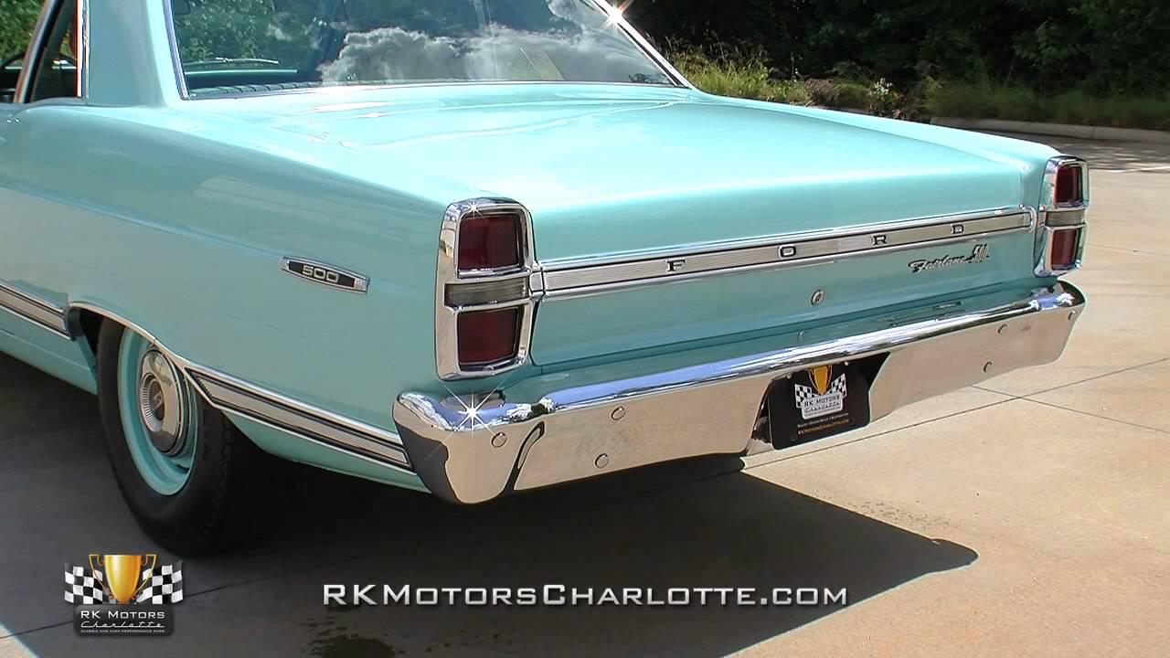 134215 1967 Ford Fairlane 500