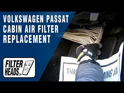 How to Replace Cabin Air Filter Volkswagen Passat