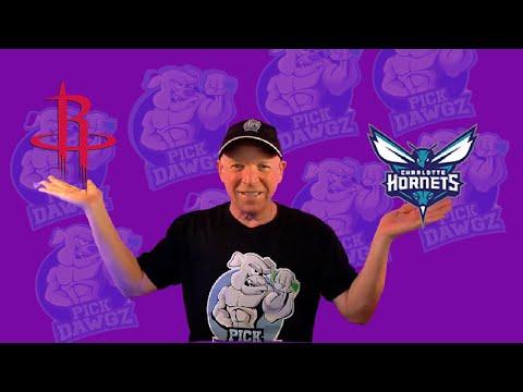 Houston Rockets vs Charlotte Hornets 3/24/21 Free NBA Pick and Prediction NBA Betting Tips