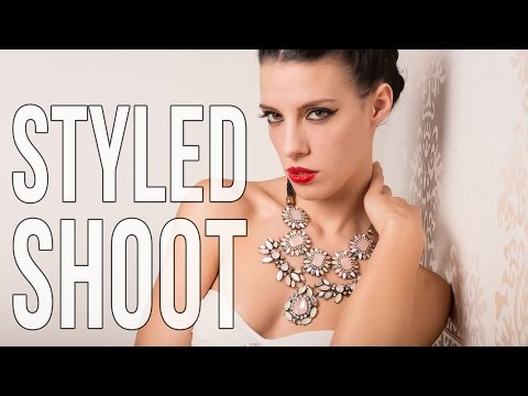 Jewelry Styled Photo shoot - Photography for advertisements and magazines