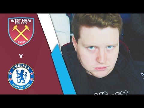 WEST HAM UNITED VS CHELSEA (Premier League 16/17)