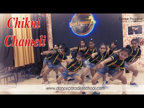 Chikni Chameli remix hip hop dance : Dance paradise institute of performing art (offcial)