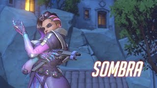Overwatch ~ Sombra Gameplay Footage