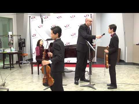 Young Artists Spotlight 2018: Kern County Violin Soloists