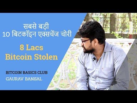 सबसे बड़ी 10 बिटकॉइन एक्सचेंज चोरी   8 Lacs Bitcoin Stolen   Bitcoin Basics Hindi   Bitcoin Hacks