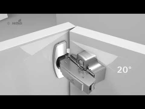 Bisagras para muebles de cocina Sensys - TPC Cocinas - YouTube