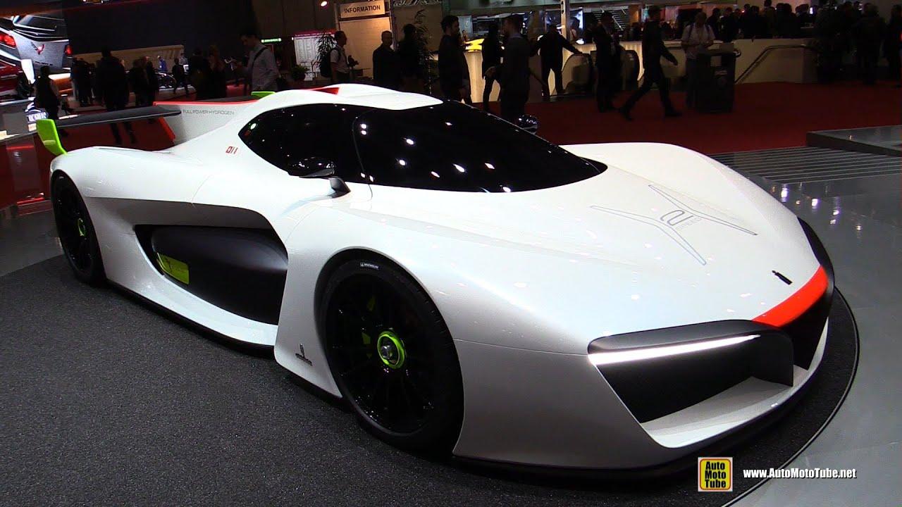 Pininfarina H2 Speed Concept: Pininfarina Green GT H2 Speed Concept