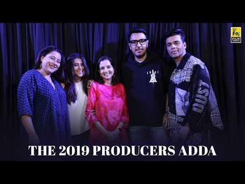 The 2019 Producers Adda | Anupama Chopra | Film Companion