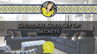 Libby Langdon Living - Sectional Sofa Setup Secrets