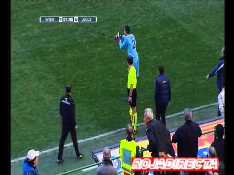 Inter 1-0 Lecce (Gol de Giampaolo Pazzini)