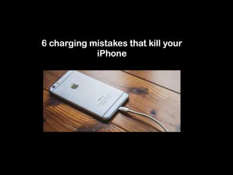 6 charging mistakes killing your iPhone battery