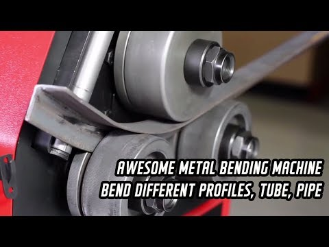 Awesome metal bending machine- bend different profiles, tube, pipe