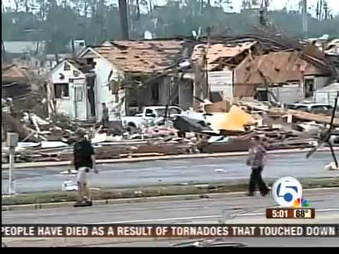 Death toll from Alabama tornado climbs to 22, including children
