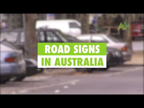 Learn English: Understanding Road Signs In Australia