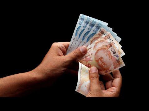 Turkish lira plunges after Erdogan sacks central bank governor