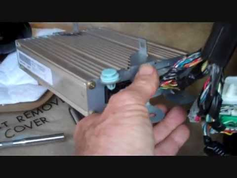 Acura TL Amplifier Removal 2004-2008 - YouTube