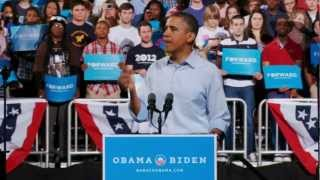 "President Obama at the first 2012 rally: ""We"