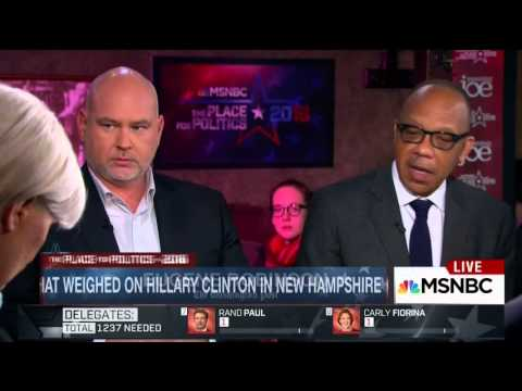 "Eugene Robinson: Clinton ""Got Creamed"" in NH"