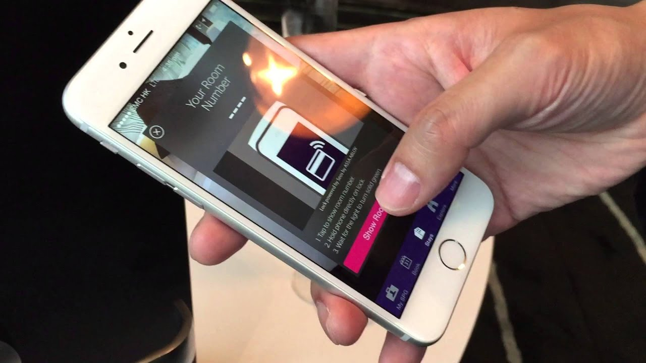 Starwood Hotels Keyless Services With New Mobile Demonstration Winandmac