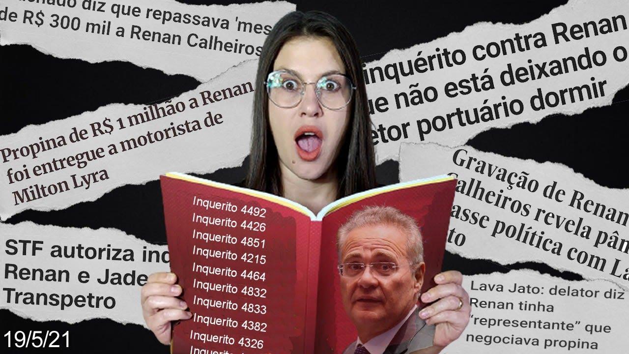 Renan Calheiros, o dossiê - As histórias (e inquéritos) que para ele, ninguém viu...