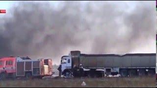 Сирия. РосАвиация в очередной раз разбомбила гуманитарный конвой.