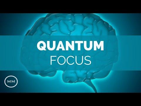 Quantum Focus - Increase Memory Brain Power Concentration - Isochronic Tones - Focus