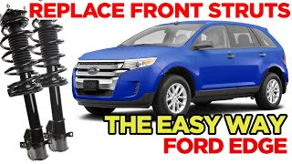 Front Quick Complete Struts w// Springs /& Rear shocks Set for 2011-2014 Ford Edge