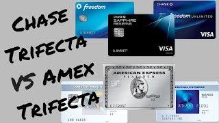 Chase Trifecta VS America Express Trifecta | Waller's Wallet