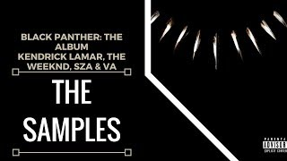 Samples From: Kendrick Lamar - Black Panther: The Album | XSamples