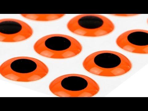 3D Epoxy Eyes, Fluo Orange, Short Introduction Video