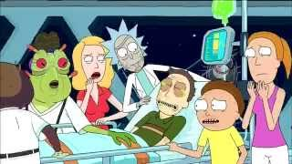 Rick and Morty Adult Swim Promo - Interdimensional Cable 2 Tempting Fate - Episode 8 Season 2 HD
