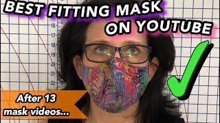 The Best Fitting Face Mask on YouTube on The Sewing Channel