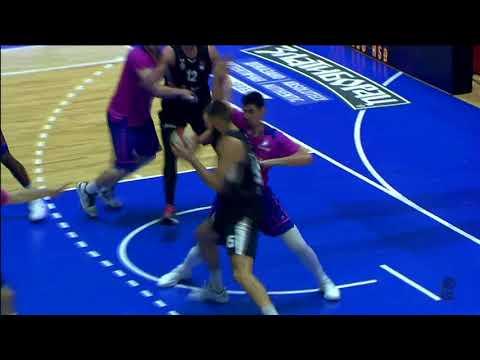 Bitadze with a block (Mega Bemax - Partizan NIS, 11.11.2017)
