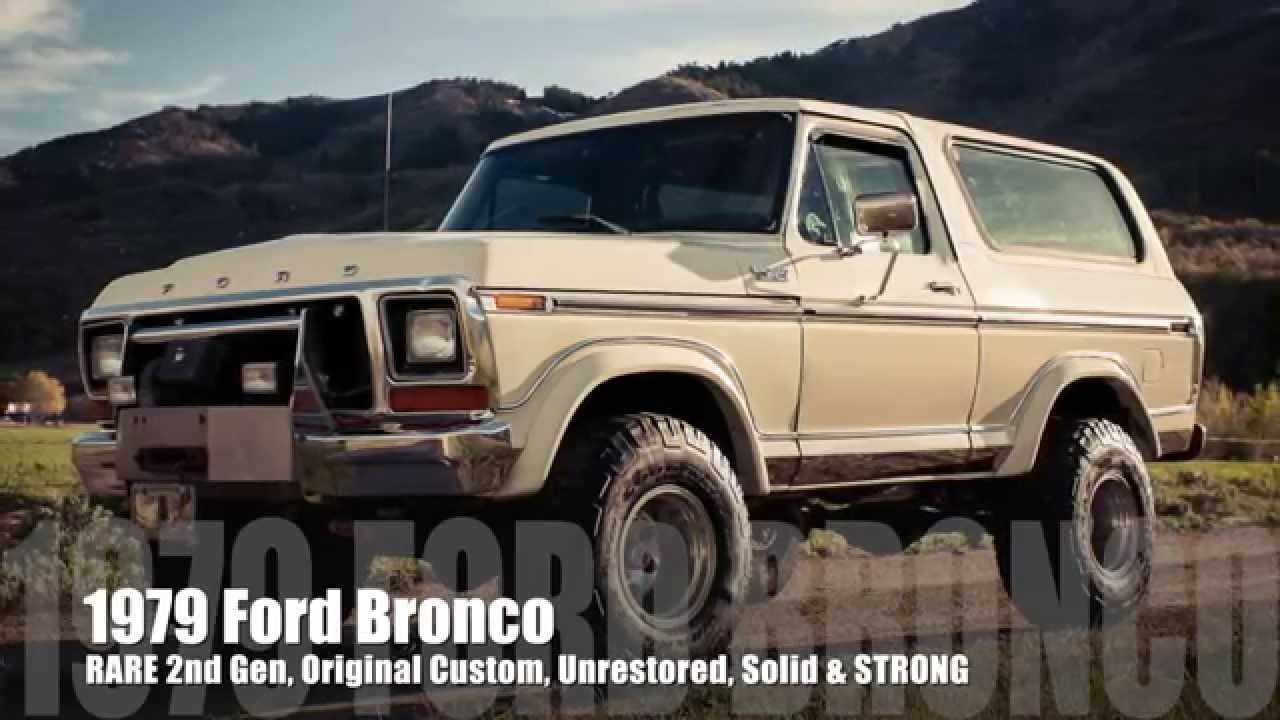 1979 ford bronco monster 460 v8 rare original unrestored solid body excellent condition