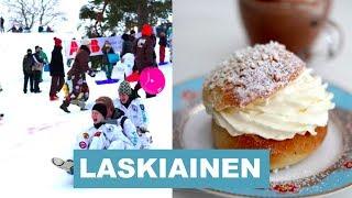 МАСЛЕНИЦА В ФИНЛЯНДИИ - LASKIAINEN
