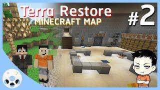 ฐานทัพสุดหรู ไม่สู้แล้วได้ไหม - มายคราฟ CTM Terra Restore #2