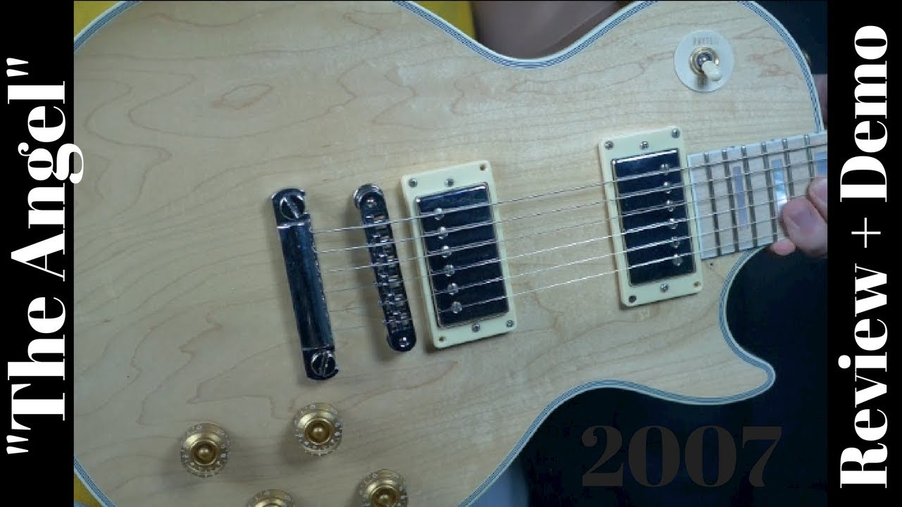 1981 Gibson Les Paul Wiring Harness Schematic Diagrams Junior 2007 Custom Natural Maple Fretboard The Angel Jr
