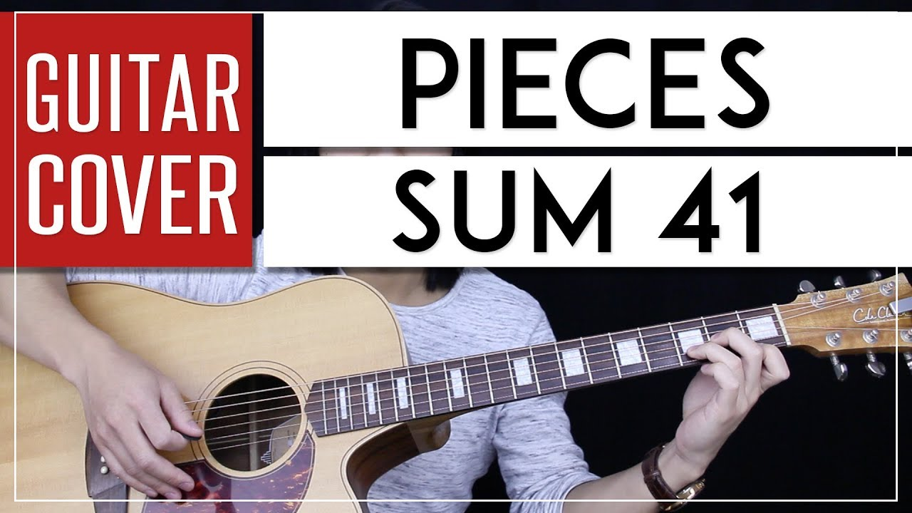 Pieces Guitar Cover Sum 41 Tabs Chords Youtube