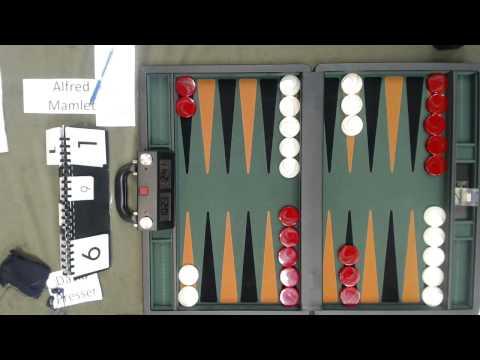 Carolina Backgammon R8 Alfred Mamlet v David Presser