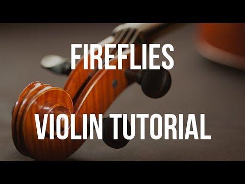Violin Tutorial: Fireflies