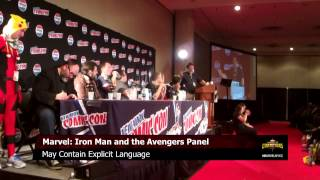 Iron Man and the Avengers - New York Comic Con 2015