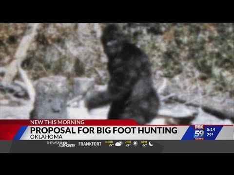 Oklahoma-lawmaker-drafts-proposal-to-create-Bigfoot-hunting-season