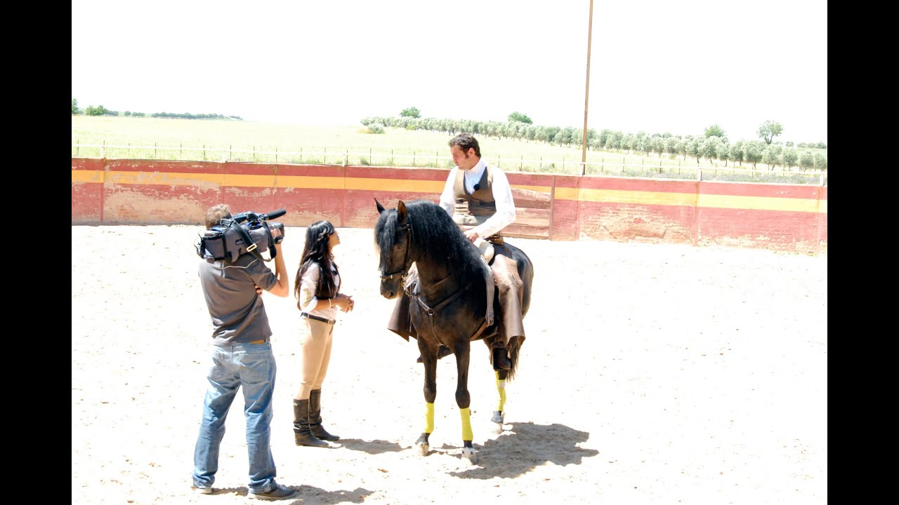 El arte del toreo a caballo, Miguel Ángel Martín