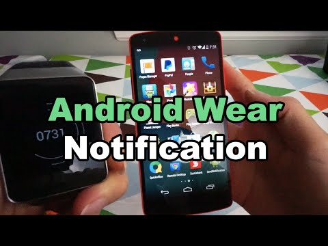 Android Wear Notification Tutorial
