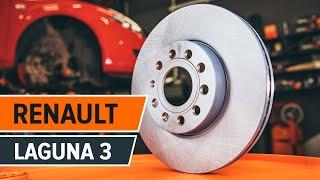 Instalar Pastilhas De Travão dianteiro e traseira RENAULT LAGUNA III Grandtour (KT0/1): vídeo grátis
