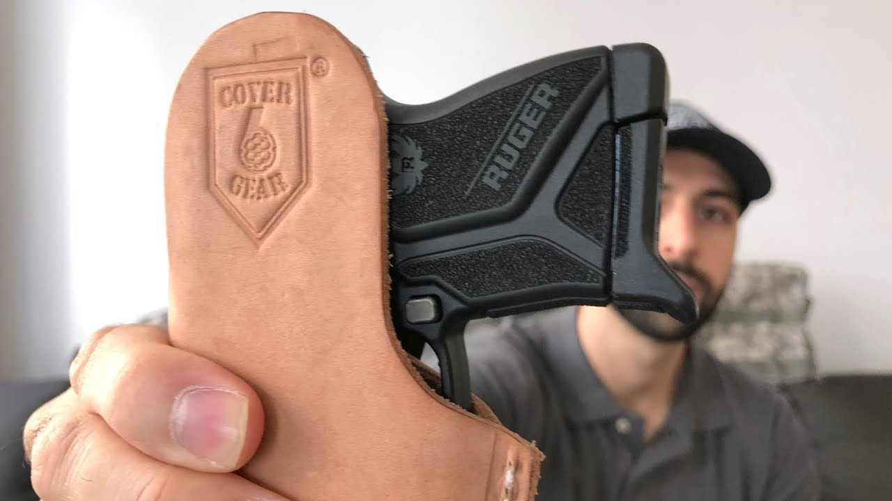 Best Ruger LCP 2 IWB Holster? Cover 6 Gear