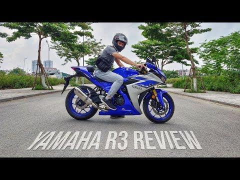 Trên mông Yamaha R3 độ carbon - Phải nói là rất đã!