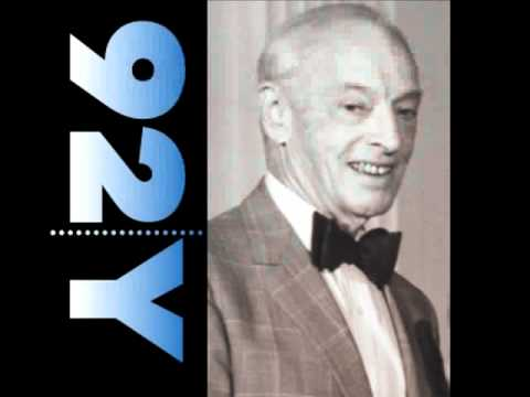 92Y Podcast: From the Poetry Center Archive: Saul Bellow